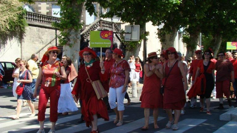 Parade dans les rues