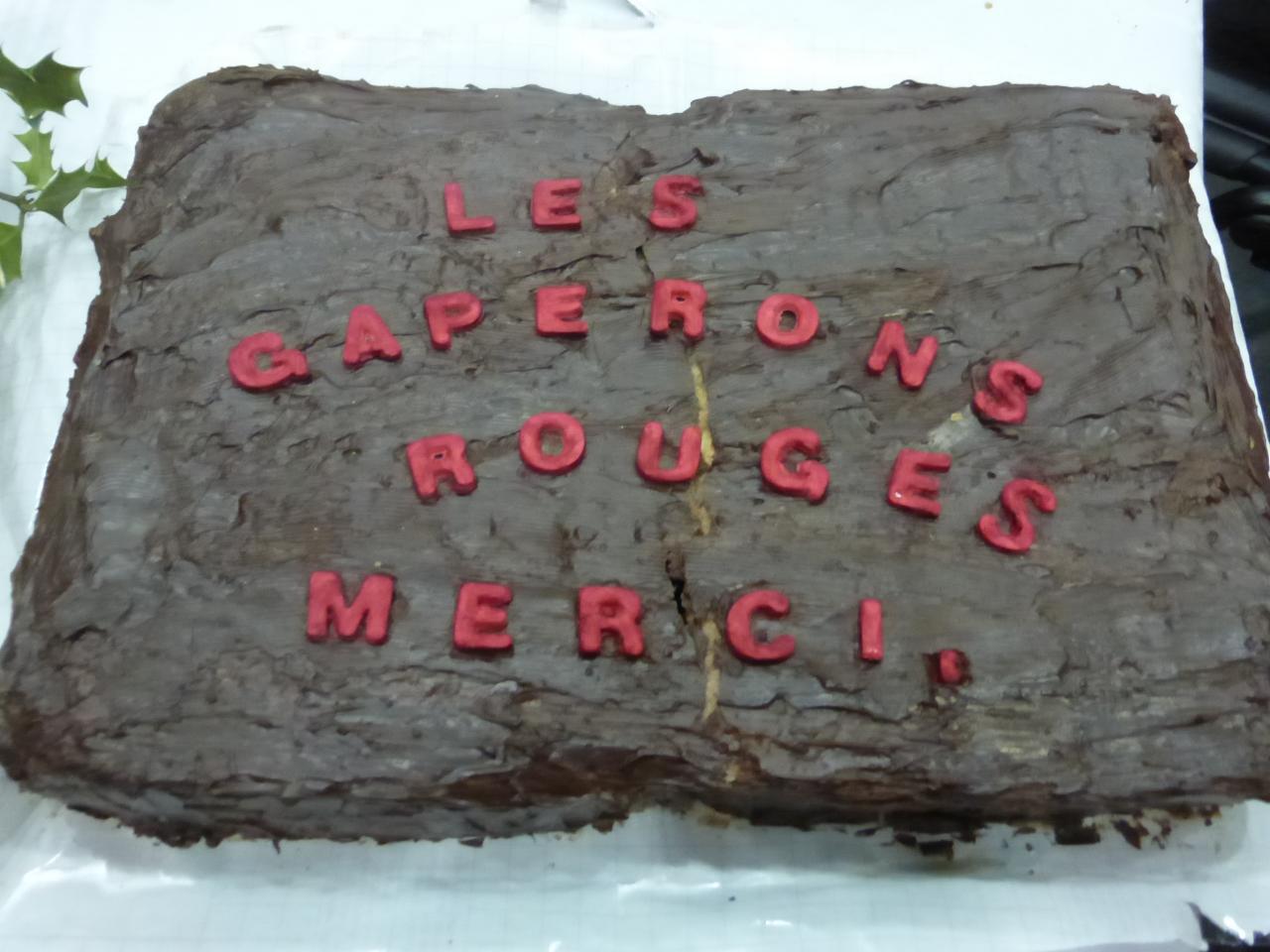 """gateau au chocolat """"merci"""""""