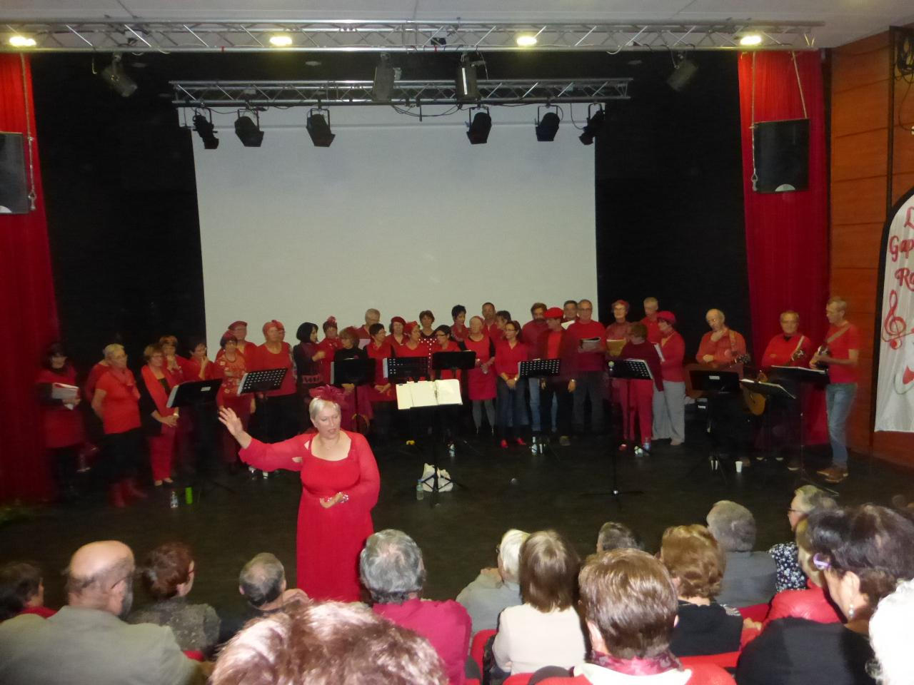 concert à St ELOY (nov 2014)  au bénéfice du Secours Populaire