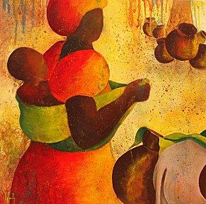Africaine l enfant