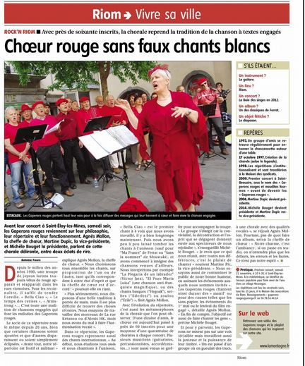 Article la montagne 1