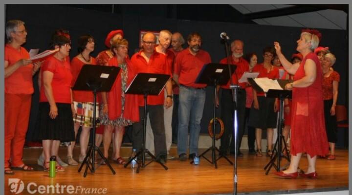 Concert à St Yorre juin 2015